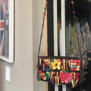 Handbags - Hand made wooden bead bags